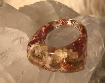 Baby daisy ring