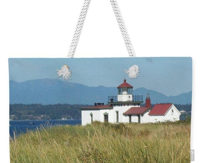 "Weekender Tote Bag ""Lighthouse"""