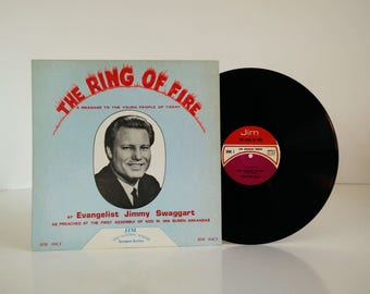 Jimmy Swaggart - the Ring of Fire / vinyl album