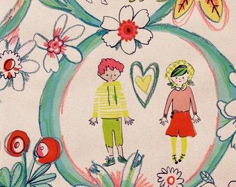 Alexander Henry - Flower Children - #8353B - Linen Tea Dye