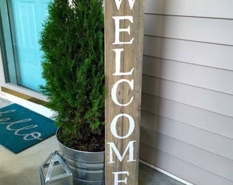 Welcome sign    pallet wood sign