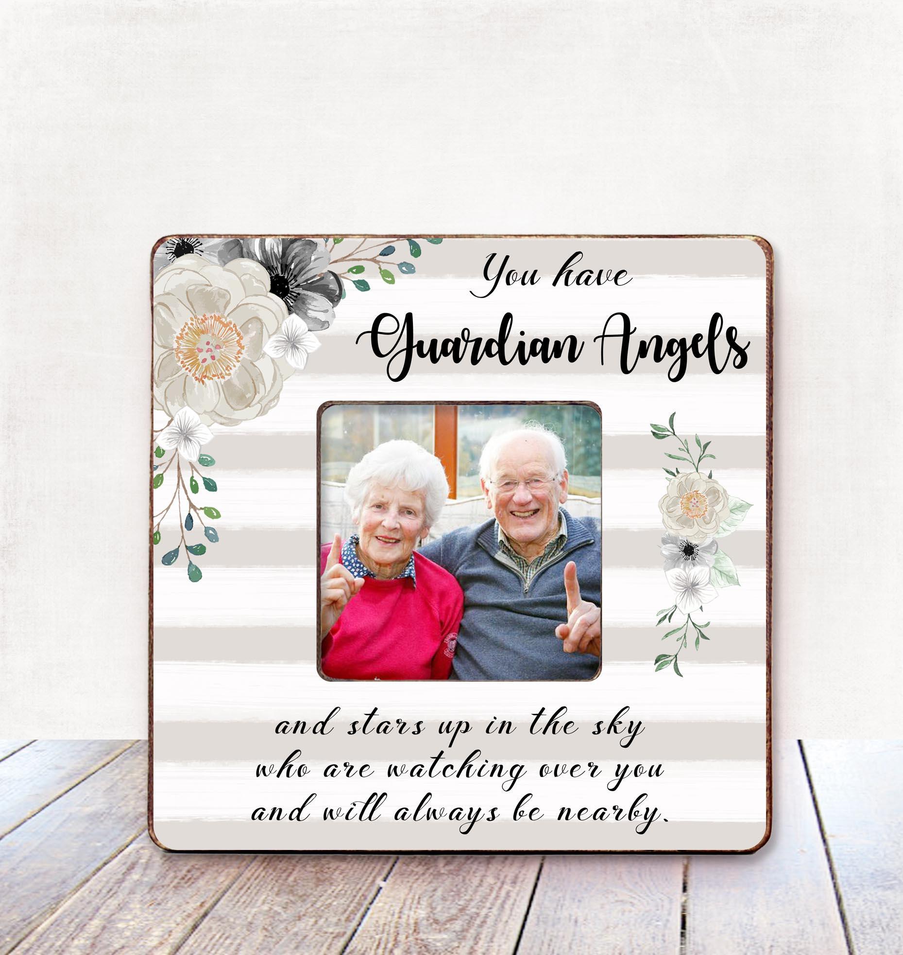 Grandparents Memorial frame Remembrance Frame for Grandchild ...