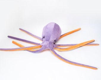 Octopus stuffed animal | violet octopus | purple octopus | stuffed octopus | octopus toy | big stuffed animal | birthday gifts for kids
