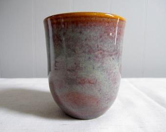 Small Tumbler/ Handmade Pottery
