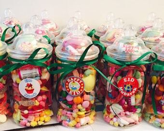 Personailsed candy jars