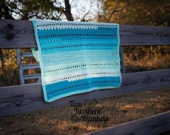 Instant Dowload- Crochet Pattern- Flowers & Showers Blanket