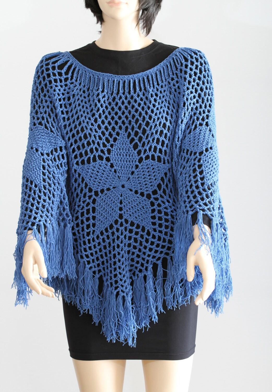 Poncho Pattern PDF Cape Pattern Crochet Shawl Women\'s Poncho Easy ...