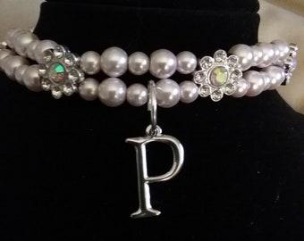 Custom Dog Jewelry  Collar  12in