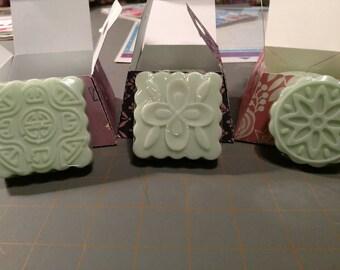 Homemade Garden Mint Goat's Milk Soap