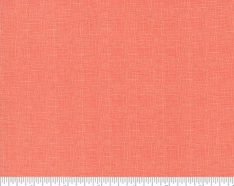 "Moda Fabrics - 108"" Wide - Lulu Lane Coral Quilt Back by Corey Yoder - Sold by Half Yard"