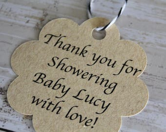 New Baby, MEDIUM, Bridal Shower Tags, Thank You Tags, Baby Shower Tags. Favor Tags, Gift Tags, Favor Tags