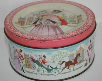 Mackintosh Tin Soldier and the Lady Quality Street Tin