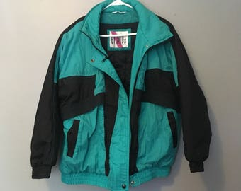 Black & Turquoise Small Coat