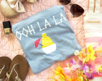Disney Snack Shirt, Disney Dole Whip, Ohh La La shirt, Disney Summer Tee, Dole Whip Disney tee, disney hawaiian tee, pineapple shirt