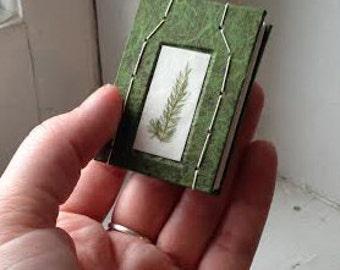 Miniature Foliage Book
