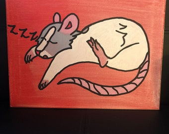 Sleepy Rattie