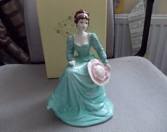 Coalport Figure (vintage)Of A lady