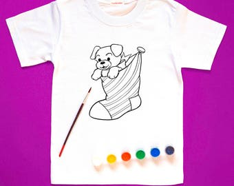 Coloring t shirt | Etsy