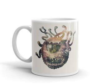 Behold My Swag - Beholder Mug / DnD Coffee Cup / Dungeons and Dragons Gift, RPG, D&D, Pathfinder, D20 Tea and Coffee Cup Gift