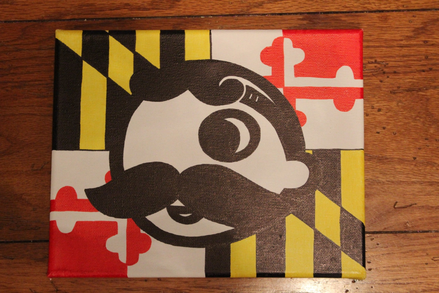 Brand-new Natty Boh with a Maryland flag background VY09