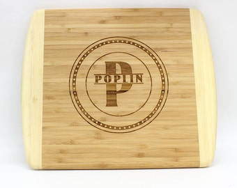 Personalized Bamboo Cutting Board,Engraved Bamboo Cutting Board,Custom Bamboo Cutting Board