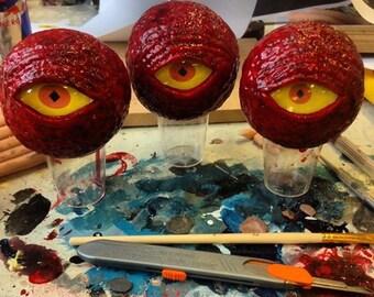 Dark souls Red eye orb inspired design prop
