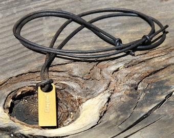 Minimalist USB 2.0 Necklace