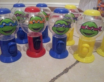 Gumball Machine Favors, Personalized Gumball Dispensers, Custom Candy Party Favors