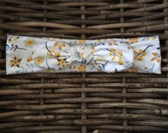 Spring Ditsy Organic Fabric Hairband