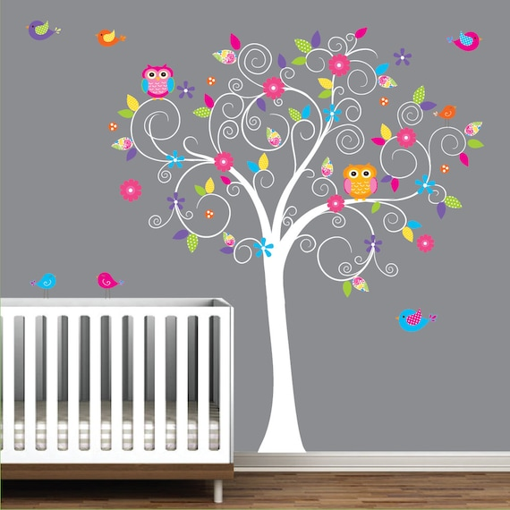 baby nursery tree wall decal wall sticker tree wall decal tree