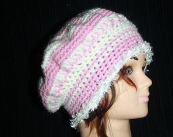 pastel wool beret