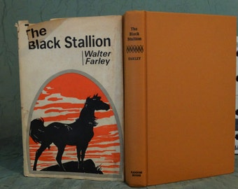 Black Stallion by Walter Farley - Hardcover Book 1968 (Book Club Edition) Classic