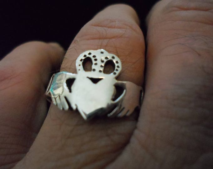 "Men""s claddagh ring"