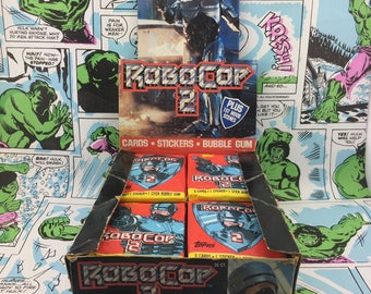 RoboCop 2 Trading Cards 1 Unopened Pack