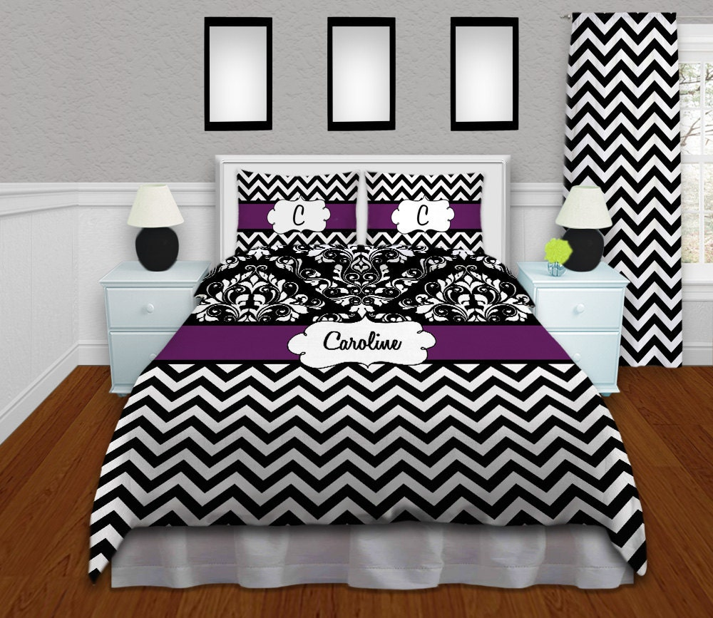 comforter black stripe wall grey sets frame throughout bedroom top photo sporty table glass chevron modern gray shaggy bedding with white rugs and