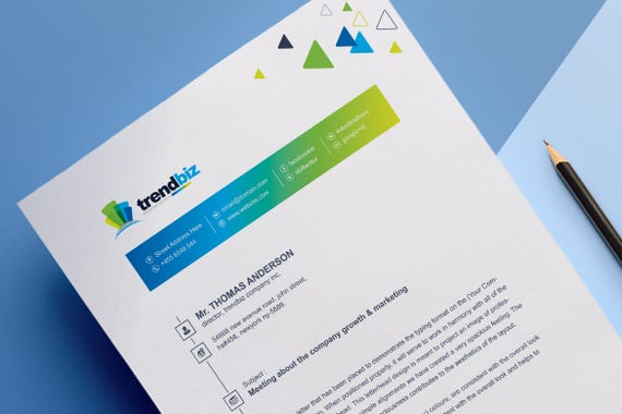 Corporate Letterhead Ms Word Psd Eps Letterhead