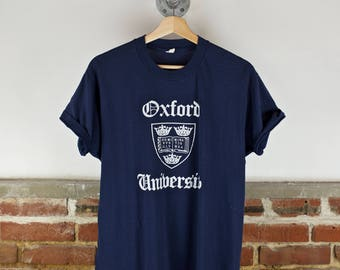 Vintage 80s University of Oxford T-Shirt