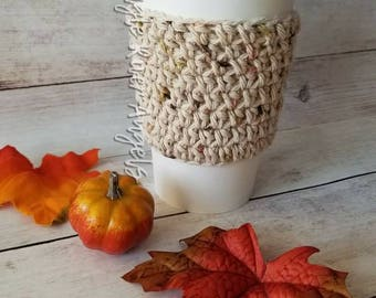 Cup cozy / Cup sleeve / Coffee cozy / Tea cozy / Tumbler cozy / Crochet cup cozy / Coffee sleeve / Tea sleeve / Travel tumbler cozy