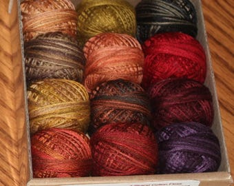 Valdani 3-strand Floss/Designer Assortment/Rosewood Manor's Autumn Quakers