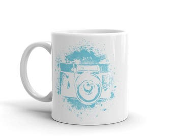 Camera Photographer Ceramic Mug