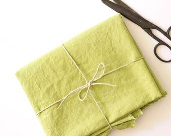 Fabric - Hemp / Organic Cotton - Grass Green