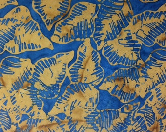 Timeless Treasures TONGA PADDLE Batik 100% Cotton Premium Fabric  - sold by 1/2 yard
