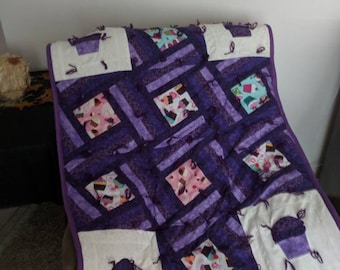 Cupcake quilt- doesn't have to be purple- can choose color