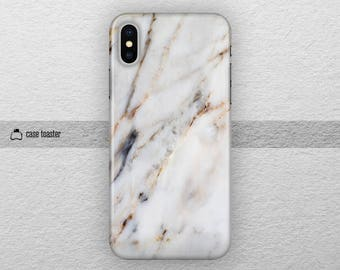 White marble - iphone x case, iphone 8 plus case iphone 7 case iphone 7 plus case iphone x tough case iphone 8 case iPhone 7 tough case