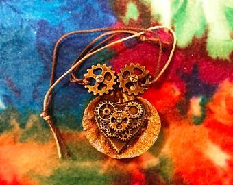 Steampunk Seashell Bracelet