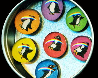 Penguin Magnet Set