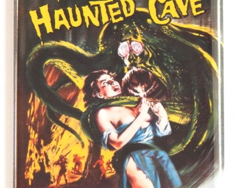 Beast from Haunted Cave Movie Poster Fridge Magnet