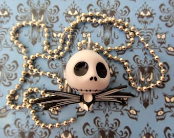 Super Cute Jack Skellington Charm Necklace - Halloween