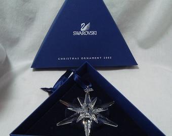 Swarovski Christmas Ornament Rockefeller Center Swarovski Star