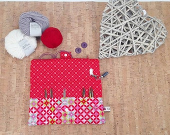Knitting needle Case for rope systems * Needle pocket * Knit Pro, ADDI,